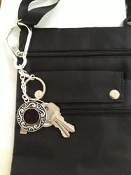 Keys Aqui Key Finder Key Chain & Purse Bling