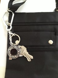Keys Aqui Key Finder Key Chain & Purse Bling
