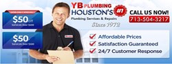 YB Plumbing - Houston Plumbers You Can Rely On |  Nw Website Relaunch