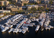 Lake Union Boats Afloat show aerial view