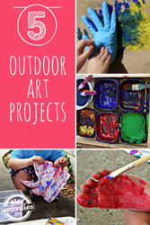 outdoor art projects