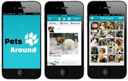 PetsAround App - Facebook for Pet Lovers