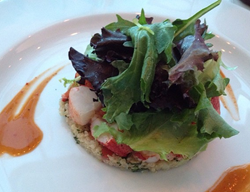 New healthy lobster recipe - Get Maine Lobster with Golden Quinoa and Tomato Compote
