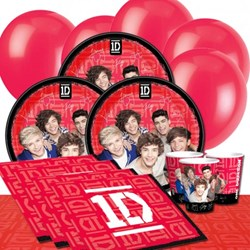 One Direction Party Supplies from Partycare