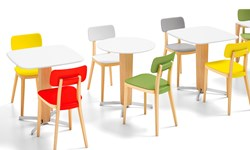 Retro Café Chairs and Table