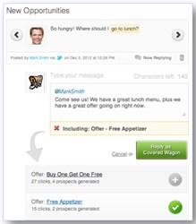 SocialCompass turns conversations into customers.