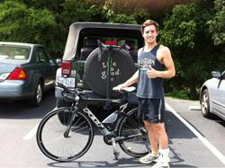 Triathlete, London Triathlon, Triathlete Greg Shore, World Class Championship, Biking, Swimming,Running