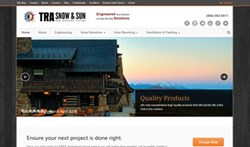 TRA Snow and Sun, snow retention, solar racking, new website