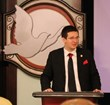 Public Affairs Director of the Church of Scientology of Spain Ivan Arjona presented a human rights education seminar August 3, 2013.