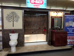 ReBath Northeast Walk-in Shower Display