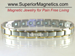 New Magnetic Therapy Bracelet for Pain Announced Superior Magnetics