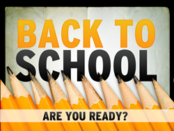 Receive complimentary ground shipping during our Back to School 48 hour sale