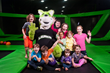 Launch Trampoline Park - Joey and Kids