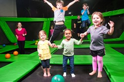 Trampoline Fun For All Ages