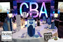 Cheshire Business Awards & Warble Entertainment Agency