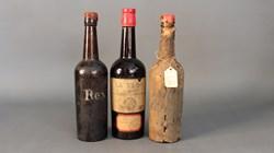 1804 Cognac, La Flor Madeira from 1838 & Ne Plus Ultra Cognac 1795