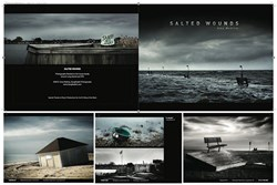 Salted Wounds photo book by Amy Medina