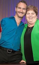 Eileen Schwartz & Nick Vujicic