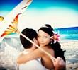 Beach Wedding at Costa d'Este