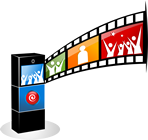 Press Pose & Print Photo Booths Logo