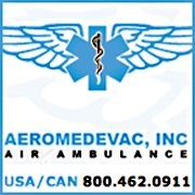 California Air Ambulance Company Aeromedevac Now Offering Full Medical Flights to and from Mexico