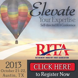 Register for Self-directed IRA Conference, Austin