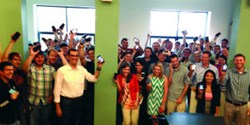 Team WillowTree Apps Celebrates Their Spot on Inc. Magazine's 5000 List