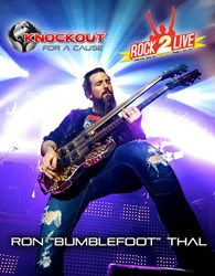 Knockout for a Cause, Rock2Live, and Bumblefoot