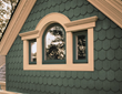 Pine Green exterior on Decorum window offering from Simonton Windows.