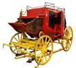 Wells Fargo Overland Stagecoach Replica Austin Auction