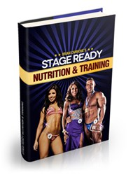 fitness model training how stage ready nutrition and training