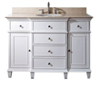 "Avanity WINDSOR Bathroom Vanity - 48"" White, WINDSOR-V48-WT"