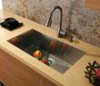 Vigo VG3019B - 30-inch undermount stainless steel 16 gauge single bowl kitchen sink
