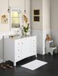 "RonBow 050548-3 Hampton 48"" Wood Vanity Cabinet with Single Door, Six Drawers and Adjustable Shelf"