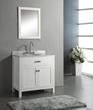 "Virtu MS-2036 - Caroline 36"" - Bathroom Vanity in White"