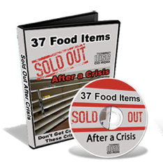 37 Food Items Sold Out After Crisis