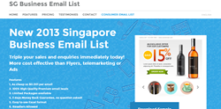 Sg Business Email Lists
