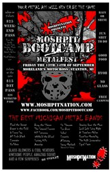 Mosh Pit Boot Camp by MoshPitNation in Stanton MI Friday the 13th-14th of September 2013