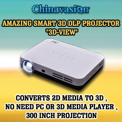 3D DLP Projector