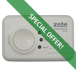 Zeta Domestic LED Carbon Monoxide Alarm