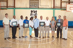 Donors, board members and Club members celebrated the Boys & Girls Club of Nash/Edgecombe Counties  grand reopening on September 5, 2013.