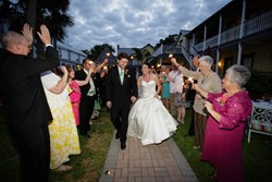 night weddings St. Augustine Florida