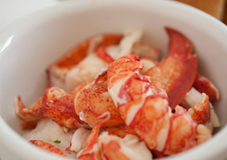 Fresh Maine lobster meat for delivery - Naked Lobster Rolls