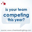 Cheerleading Blog Reveals the Large Number of Cheer Squads Competing...