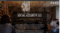 Socialassurity.com is a full service website that keeps up with all the latest social media news and where college applicants can directly order personalized services and communicate directly with their researchers and counselors.