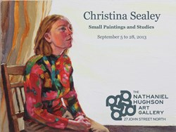 Christina Sealey – Small Paintings and Studies