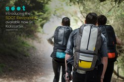 The SOOT Electropack charges your mobile device for up to a week off the grid!