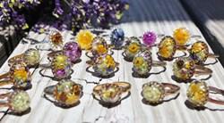 Texas Hill Country Wildflowers Rings by Belukro Jewelry