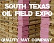 Quality Mat Company Exhibits at South Texas Oilfield Expo