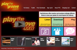 PlayTheGroove Home Page